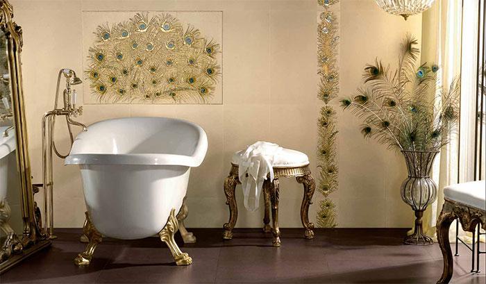 Роскошная плитка для ванной