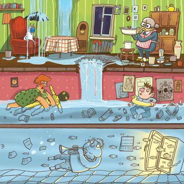 Затопленные квартиры