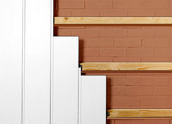 Обшивка стен ПВХ панелями