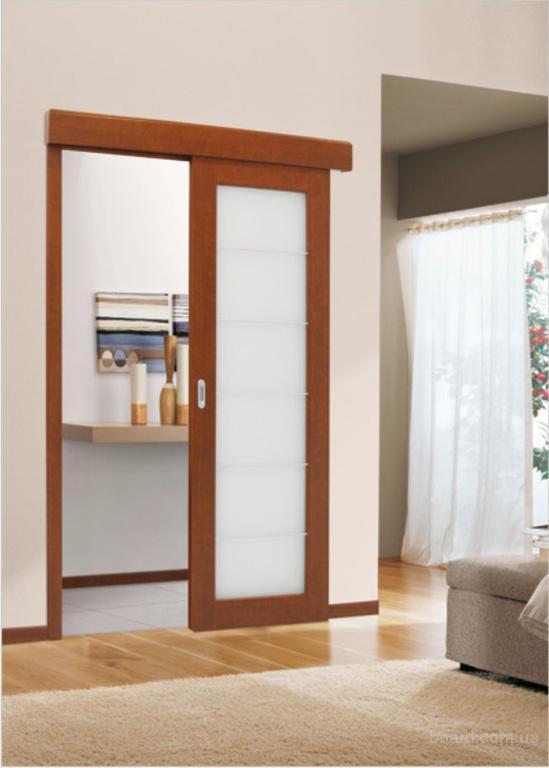 Двери купе для ванной комнаты