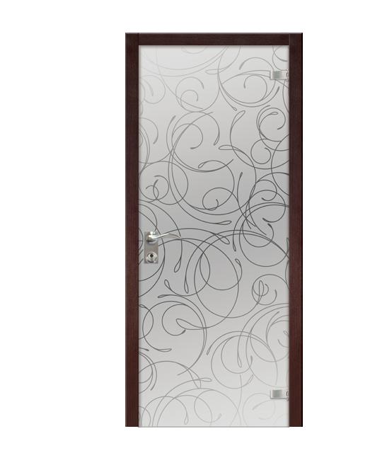Дверь для ванной из триплекса