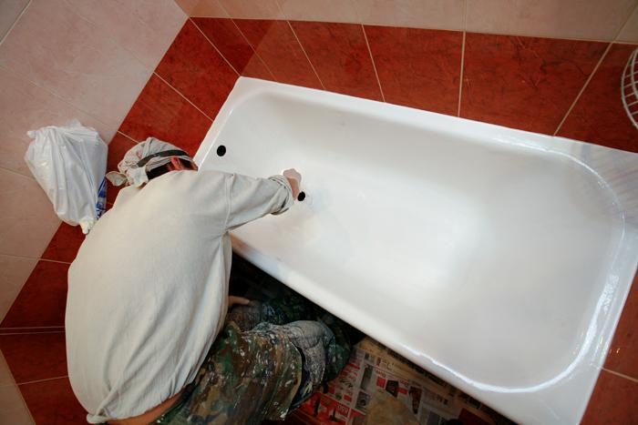 технология эмалировки ванны