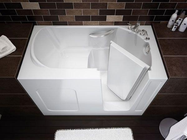 стальная сидячая ванна