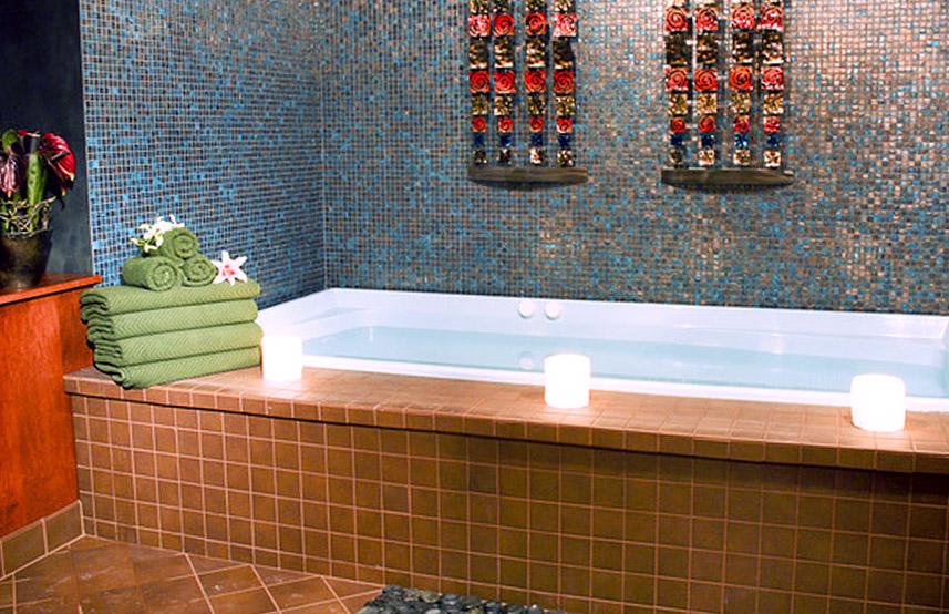 Восточный стиль дизайна ванной