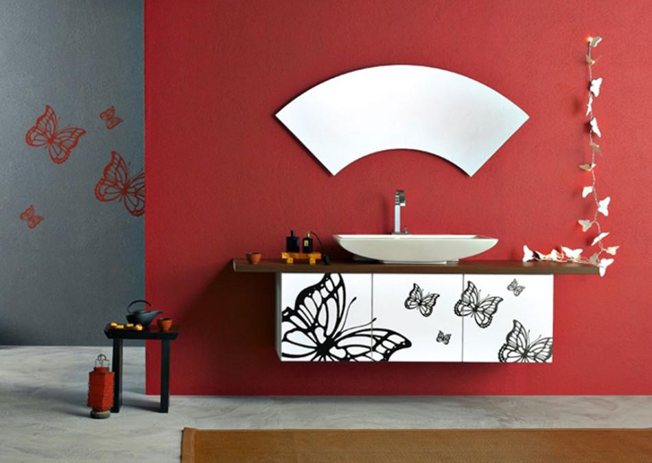 дизайн туалета в стиле авангард