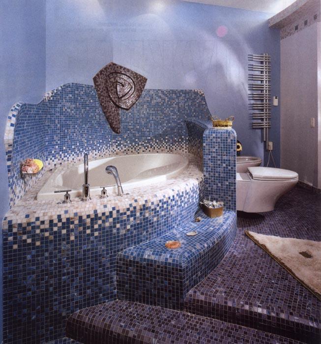 Плитка мозайка для ванной комнаты
