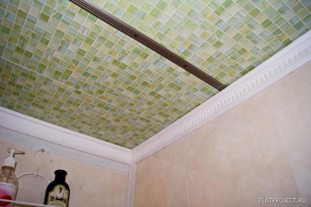 Подшивные потолки в ванной