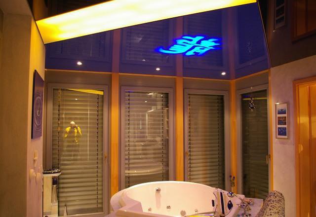 Подвесные потолки в ванной