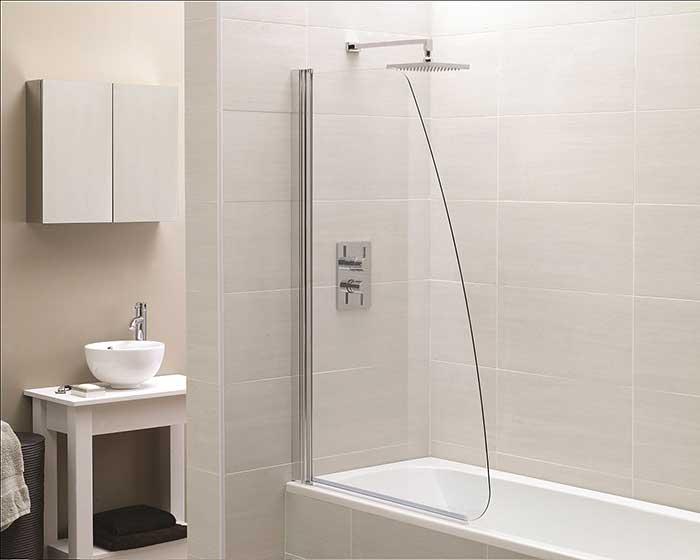 Стеклянная шторка для ванной своими руками 795
